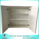 米国式の食器棚の白いシェーカーW3030