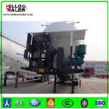 중국 제조 고품질 3 차축 60m3 대량 시멘트 유조선 트레일러