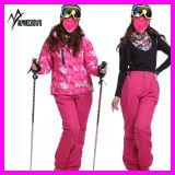2014 Vrouwen Van uitstekende kwaliteit van de Winter het Jasje van de Ski van de Modieuze Waterdichte