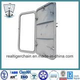 Estanco Single-Leaf barco marino de la puerta de acero con certificado