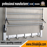 "24 "" Hotel와 Public Project를 위한 SUS304 Stainless Steel Towel Rack Bathroom Accessory"