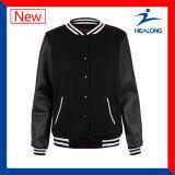 Healong中国の卸し売り服装ギヤカスタムロゴのWindbreakの男子野球のジャケット