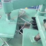 고속 두 배 철사 다이아몬드 메시 체인 연결 담 기계