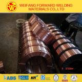 Alambre de soldadura del CO2 Er70s-6 hecho en China