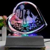 Het Kristal dat van de Prijs van de Machine van Enghraving van de laser Machine merkt
