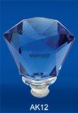 Capsula di vetro, sughero, protezione di plastica, protezione del metallo