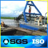높은 Effciency Kaixiang 직업적인 유압 디젤 엔진 모래 준설선 배
