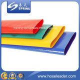 Шланг шланга водопотребления для орошения земледелия положенный PVC плоский от фабрики Китая