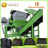 Grande capacité pour 10 tonnes par défibreur d'arbre de double d'heure