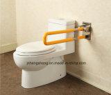 Barra di gru a benna antisdrucciolevole del bagno fisso della barra di sicurezza della toletta per l'ospedale