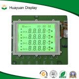 Segment LCD-Bildschirmanzeige des Positiv-7