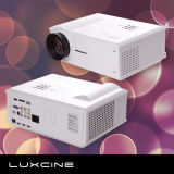 Amazing 2300 Lumens Projector LED 720p com HDMI e USB ,Internet para Cinema em Casa