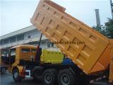 Shacman D'long 6X4のダンプTruck&Tipper&Miningの都市ダンプトラック