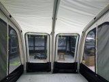 2 정문 캐라반 현관 차일 팽창식 캐라반 공기 RV를 위한 야영 관 야영자 천막