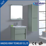高品質の壁現代緑の防水PVC浴室用キャビネット