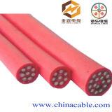 Câble de commande à plusieurs noyaux d'isolation de PVC de double 9*1.5mm2