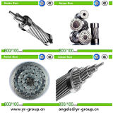 Con núcleo de acero el aluminio conductor sca