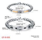 De Armband van het Roestvrij staal van het Paar van de laser