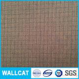 Muster gesponnenes Polyester-Gewebe 100% auf Kleid und Futter überprüfen