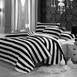 Streep 100% het Blad van het Bed van de Katoenen Reeksen van het Beddegoed van de Polyester/voor Huis