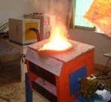 Forno de indução de laboratório prático de luz com cadinhos de alumínio de fundição