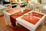 100%Polyester/Two het Stevige Tafelkleed van de Polyester van de toon met de Dekking van de Stoel