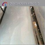 Plaque Checkered douce laminée à chaud d'acier du carbone pour l'usage d'étage
