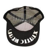 Kundenspezifischer schwarzer weißer Schaumgummi-Drucken-Hysteresen-Fernlastfahrer-Hut