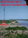 Megatro 66kv 06b1-Z1 sceglie la torretta della trasmissione del circuito