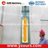自動車かManual Electrostatic Powder Coating Spray Line
