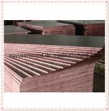 La madera contrachapada hecha frente película de la venta al por mayor 12m m de la fábrica de China, película negra hizo frente a la madera contrachapada con el mejor precio