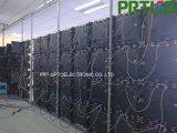 알루미늄 위원회를 가진 1/32의 검사 P2.0 실내 임대료 발광 다이오드 표시 576 * 576 mm