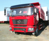 D'long Shacman F3000 6X4 Cummins Engine 385HPのダンプトラック