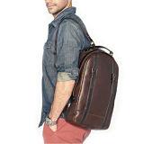 High-end низкая цена Vintage Brown сумка для ноутбука из кожи крупного рогатого скота в рюкзак