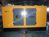 Ce/Soncap/CIQの承認のWeifangエンジンR6105zdを搭載する85kVA無声ディーゼル発電機