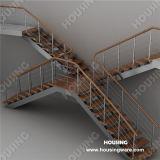 PVC Handrail를 가진 특별한 Design Interior Staircase