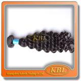 加工されていないブラジルの人間の毛髪(KBL-BH)