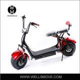 1000W elektrische Autoped Citycoco 2 de Elektrische Autoped Harley Citycoco van het Wiel