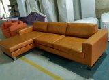 Canadá sofá de cuero, sofá seccional, muebles para la sala (A07)
