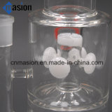 Tubo de agua del LENGUADO de cristal del tubo del jade que fuma (LY004)