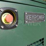 La couleur verte de l'armée silencieux GÉNÉRATEUR DIESEL 7kw insonorisées Genser diesel à usage militaire