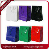 Il regalo di colore solido insacca sacchetti di acquisto dei sacchetti di acquisto della drogheria gli euro