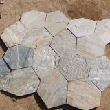 Decorativo Natural Rusty Slate Flagstone Stepping Stones (SMC-Y057)