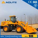 Chargeur 936 de roue de machines de construction de routes de marque d'Aolite avec le manche