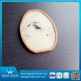Imán de bambú de madera del refrigerador de la alta