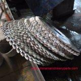 De goede Premie Gesegmenteerde Scherpe Bladen van de Cirkelzaag van de Deklaag van het Tin van de Bladen van de Cirkelzaag van de Pijp HSS van het Roestvrij staal Dm05 HSS