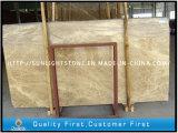 Marmo di pietra chiaro di Emperador per le lastre dei controsoffitti e le mattonelle di pavimento
