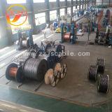 Жесткий обращено алюминиевый провод/цинковым покрытием стальные тросы ACSR