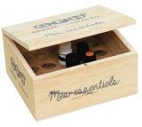 型の一見を用いるカスタマイズされた純木のワインボックス