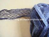뜨개질을 하기를 위한 Lurex를 가진 공상 메시 털실